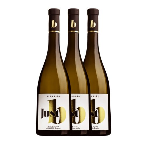 just B wine. Caja de 3 botellas. Albariño D.O. Rías Baixas